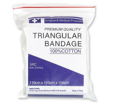 Bandage - Triangular 110cm (Single)