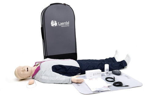 Resusci Anne QCPR With Airway Head Full Body (Trolley Suitcase)