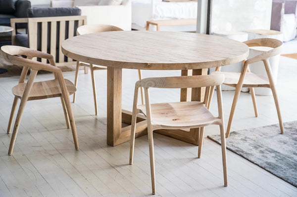 Global Round Dining Table