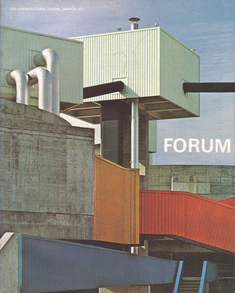 Architectural Forum March 1971