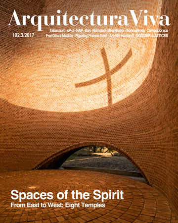 Arquitectura Viva 192: Spaces of the Spirit. From East to West: Eight Temple