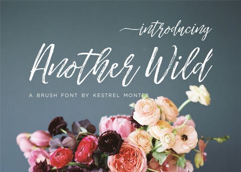 Another Wild Modern Brush Font-wedding invitation font-Ink Me This