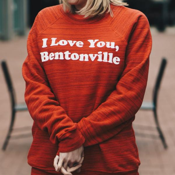 I Love You, Bentonville Sweatshirt
