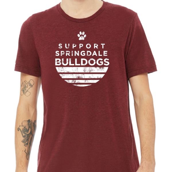 Support Springdale Bulldogs T-Shirt