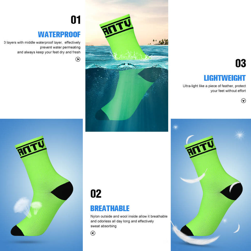 WATERFLY Summer Ankle Waterproof Socks - waterfly