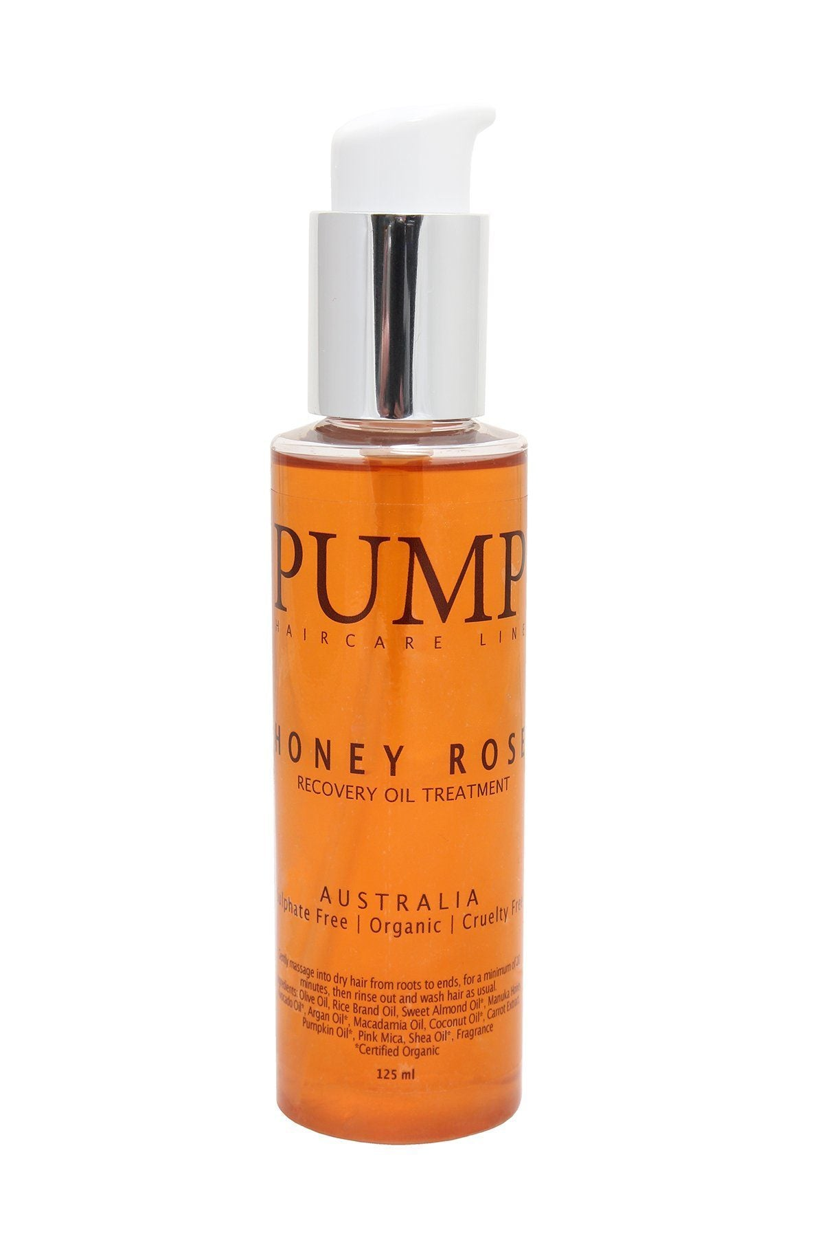 Pump Honey Rose Recovery Oil Treatment