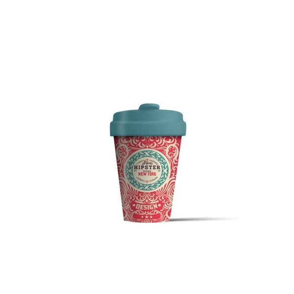 BambooCup 'Original Hipster' Travel Mug - 400ml