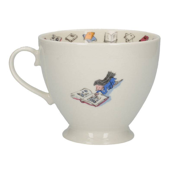 Matilda Illustrated Fine Bone China Footed Mug