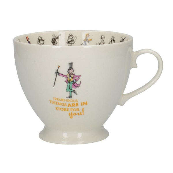 Charlie & The Chocolate Factory Fine Bone China Footed Mug