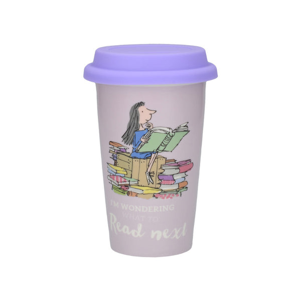 Matilda Illustrated 350ml Insulated Travel Mug