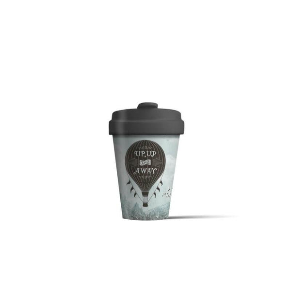 BambooCup 'Up And Away' Travel Mug - 400ml