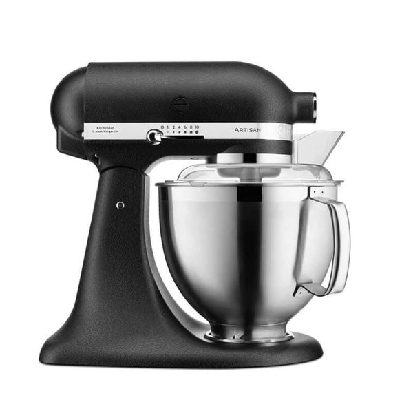 KitchenAid 5KSM185PSBBK Artisan Stand Mixer - Cast Iron Black