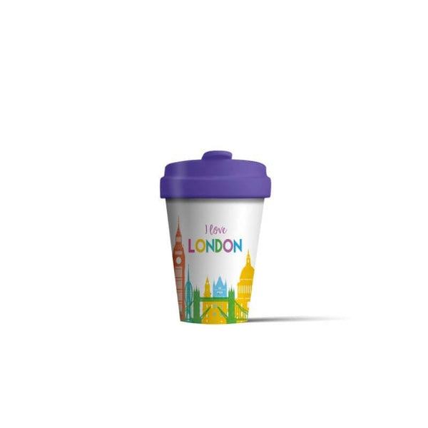 BambooCup 'London Skyline' Travel Mug - 400ml
