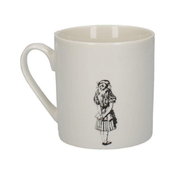 C000048 Victoria And Albert Alice in Wonderland Alice Mug - Reverse Side Illustration