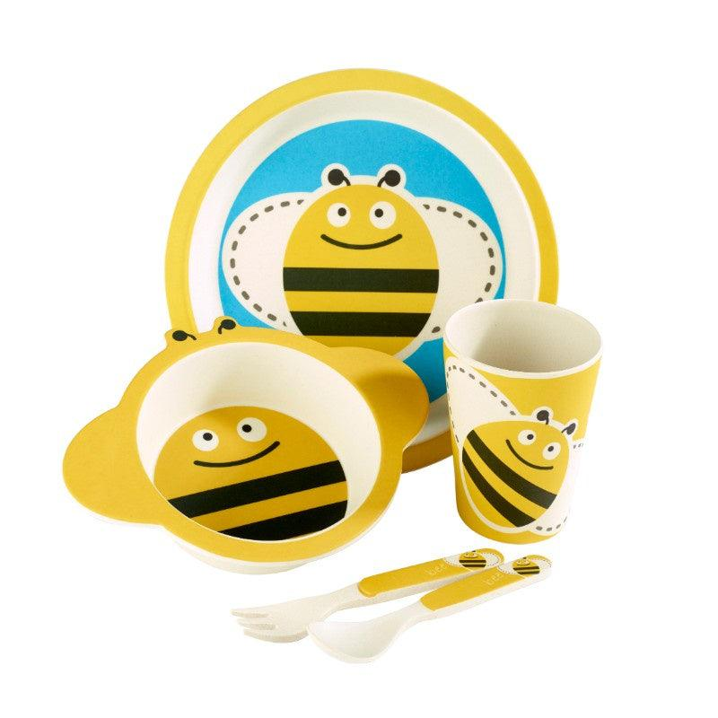 ZBAM0002 Arthur Price Bambino Bee 5 Piece Childrens Dining Set - Main