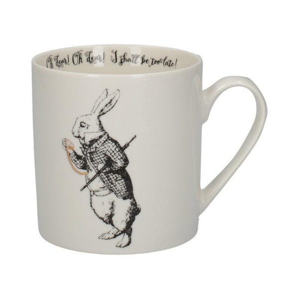 C000051 Victoria & Albert Alice in Wonderland White Rabbit Mug