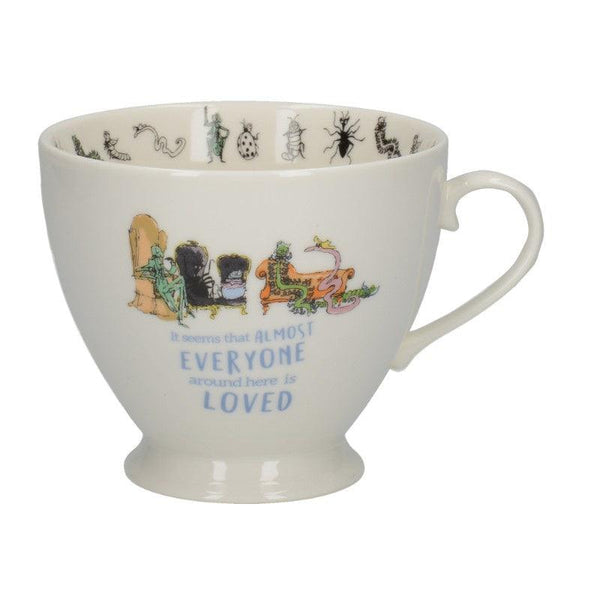 James & The Giant Peach Footed Mug - 450ml