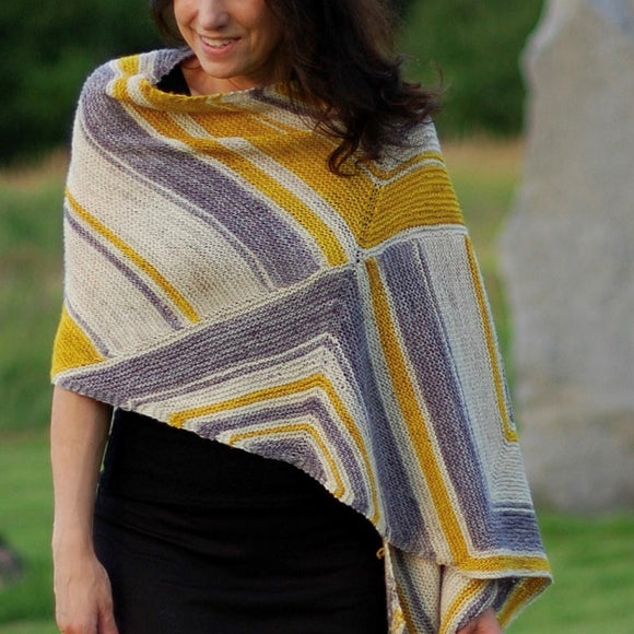 Square Route Shawl Kit