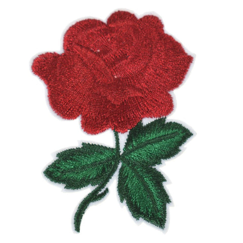Cute Colorful Rose Applique Flowers Patch Embroidered