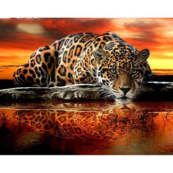 "5D Diamond Painting ""Tattoo Tiger"""