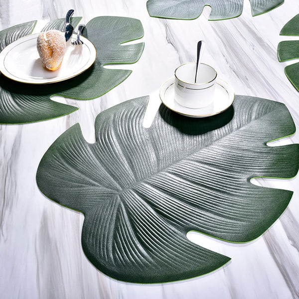 Kitchen Placemat Leaves