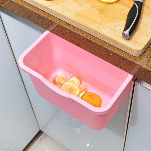 Kitchen Cabinet Door Trash Rack