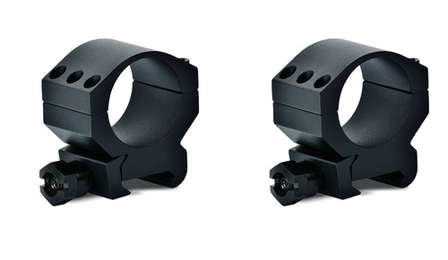 Vortex Optics Tactical 30mm Robust 6-Screw Riflescope Rings, TRM-2Pk