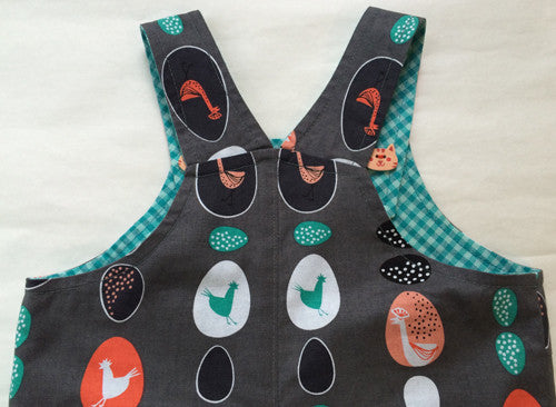 Baby Boys Overalls/Shortalls pdf pattern OLLIE OVERALLS Sizes to fit 3+months to 4 years - Felicity Sewing Patterns