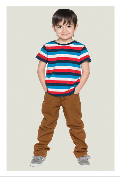 Boys casual trouser sewing pattern Slim Jim Pants sizes 2-12 years - Felicity Sewing Patterns