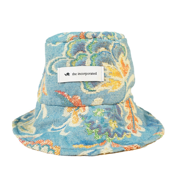 DEADSTOCK UPHOLSTERY Bucket Hat / BABY BLUE - The Incorporated