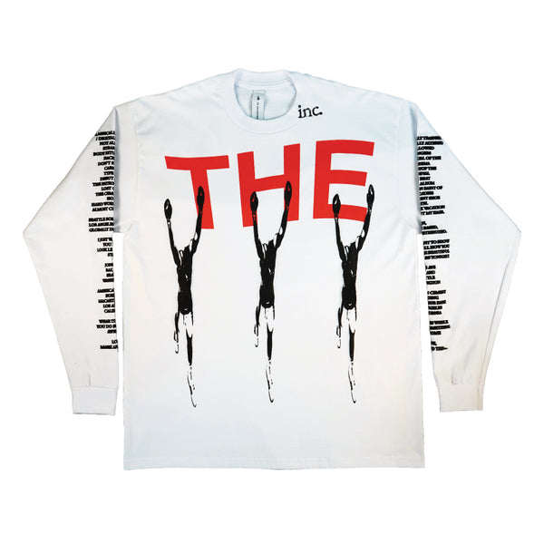 THE WINNER Long Sleeve T-Shirt / WHITE - The Incorporated