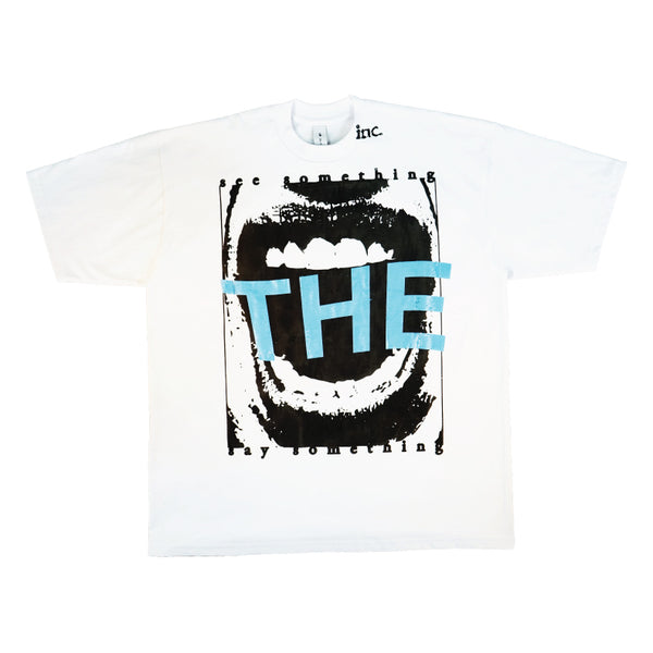 SEE SOMETHING T-Shirt / WHITE - The Incorporated
