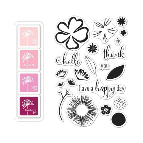 Color Layering Happy Day Flowers Bundle-Craft.ph