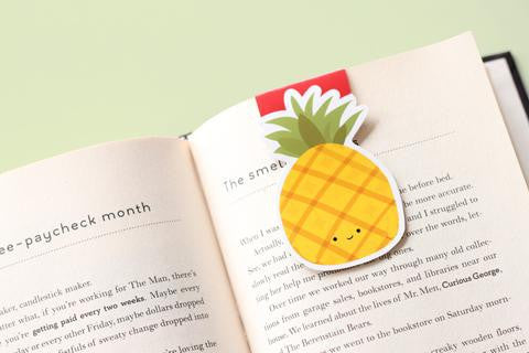 Pineapple Magnetic Bookmark-Craft.ph