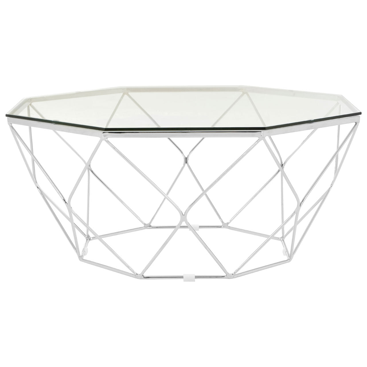 Allure Coffee Table Chrome - Ezzo