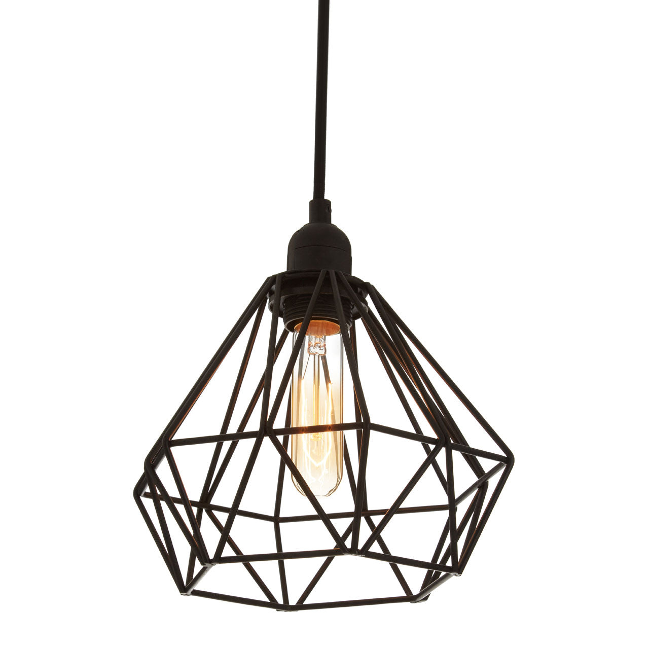 Bartol Pendant Light Black - Ezzo