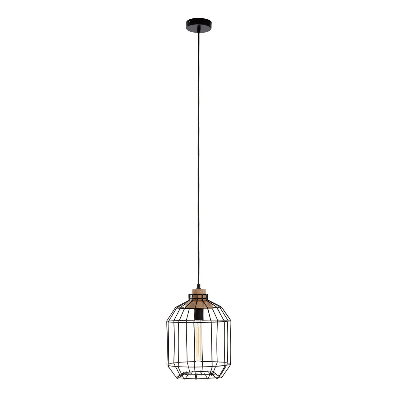 Beacan Pendant Light Black - Ezzo