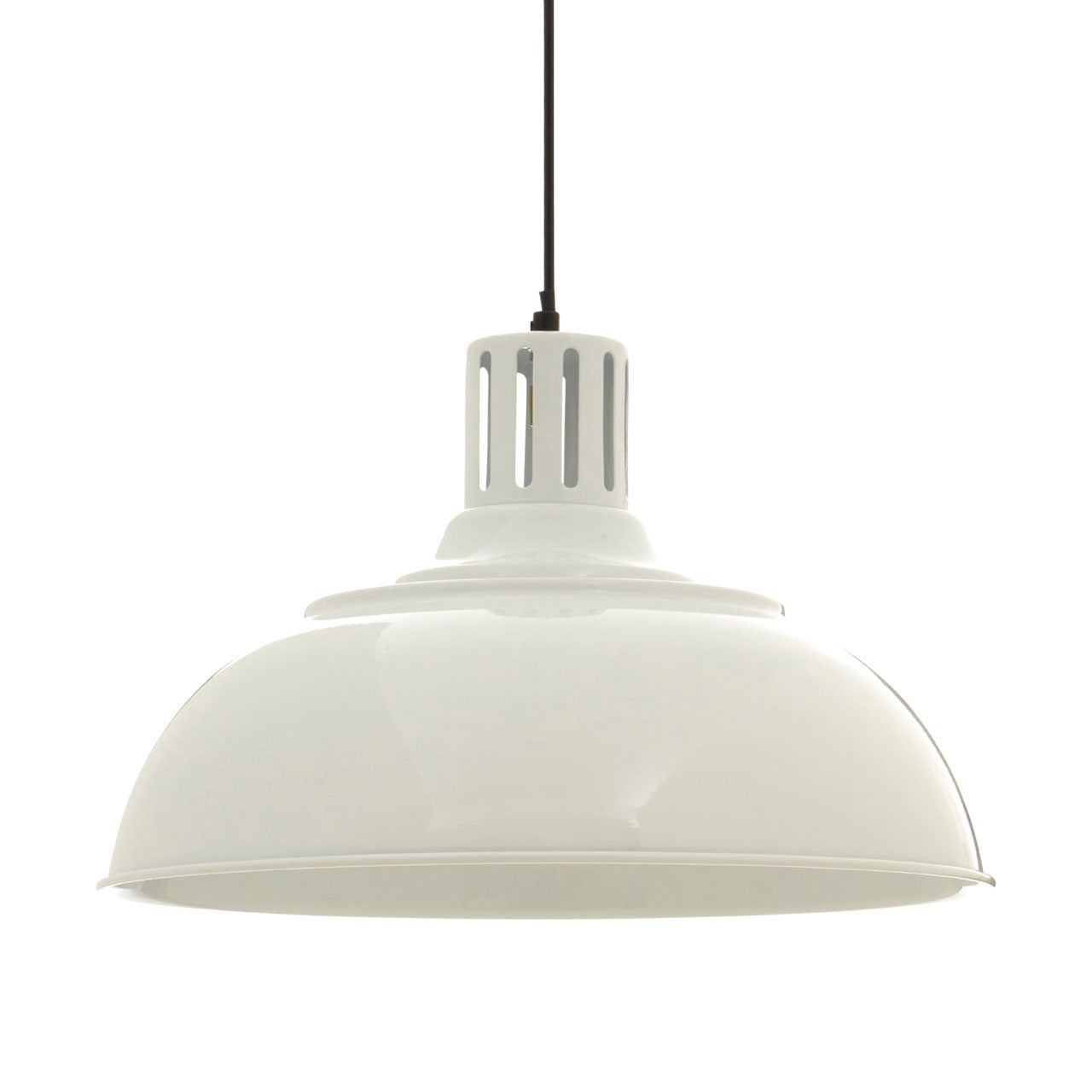 Brook Pendant Light White - Ezzo