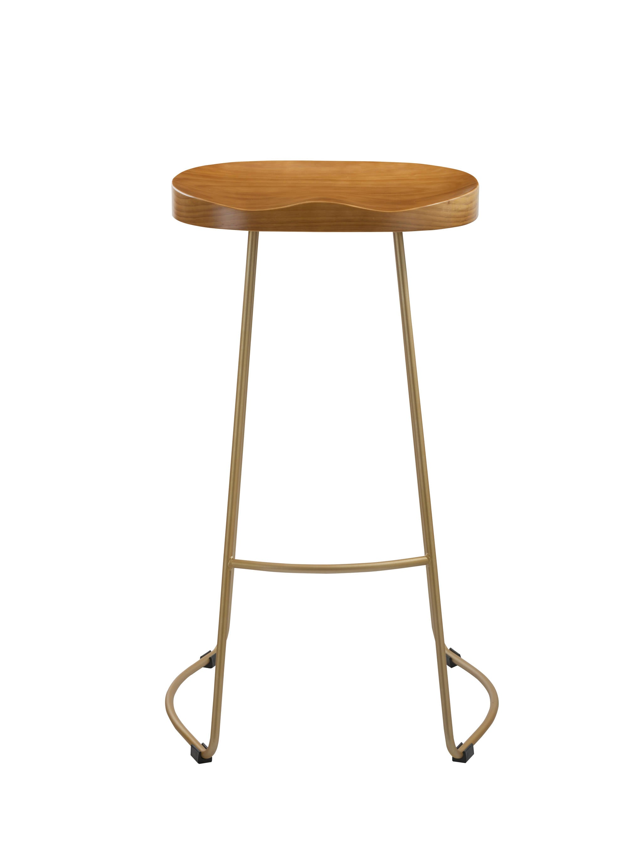 Ethan Stool with Gold Legs - Ezzo