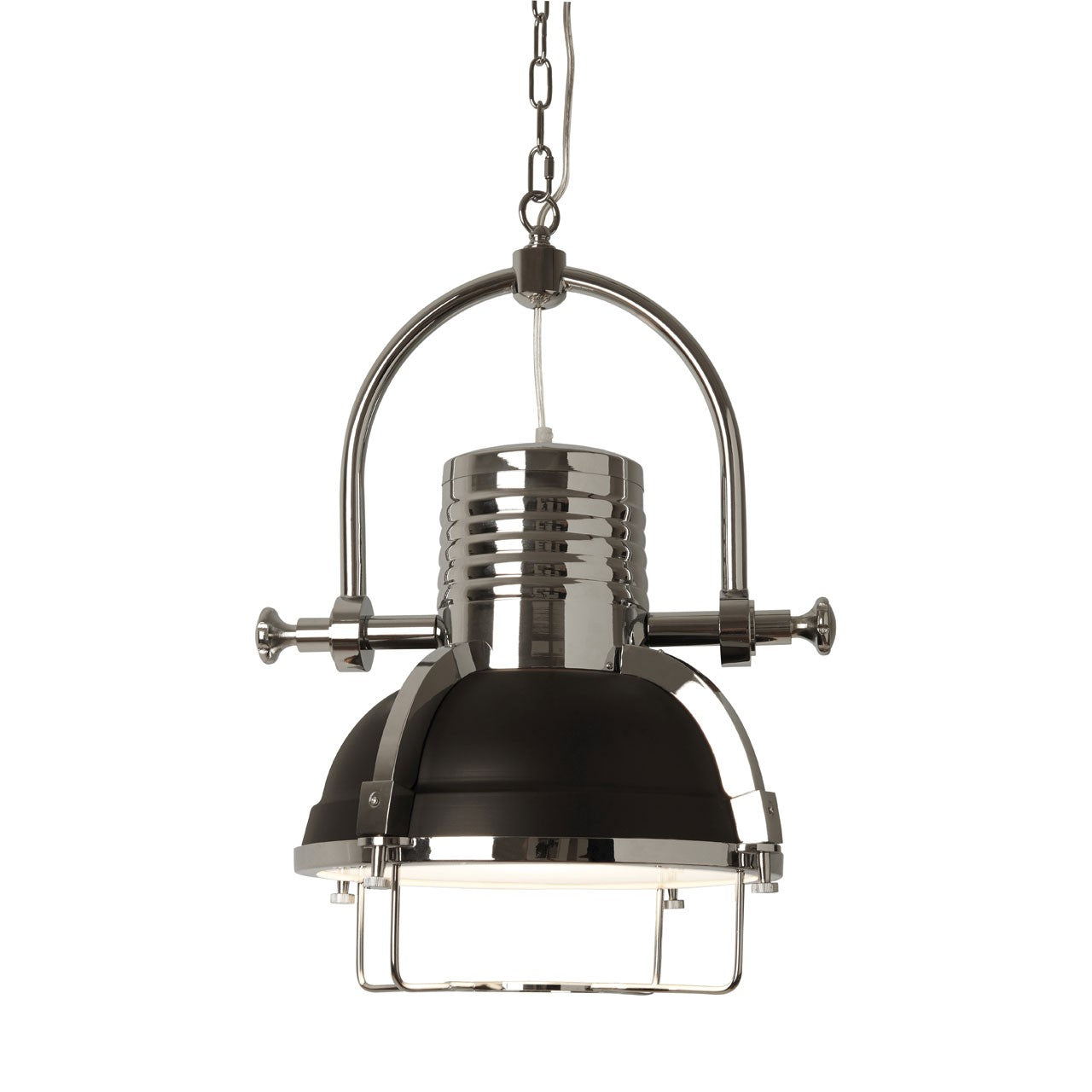 Industrial Revolution Pendant Light Matt Black