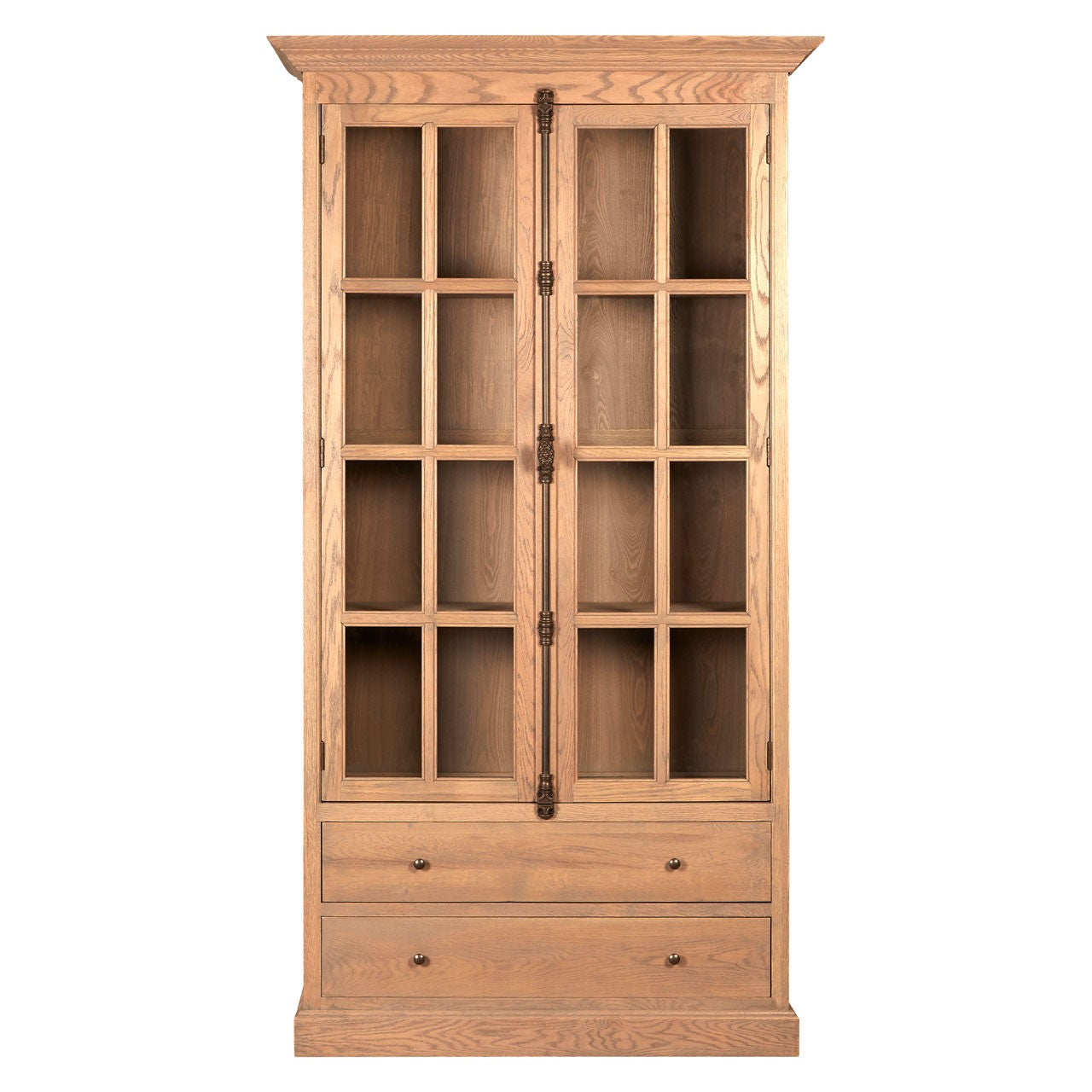 Lyon 2 Drawer and 2 Door Cabinet