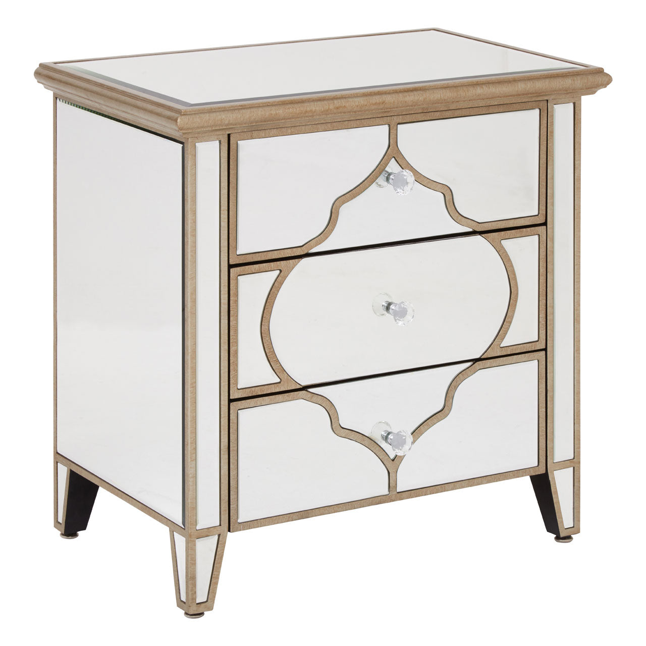 Medina Mirrored Cabinet Small
