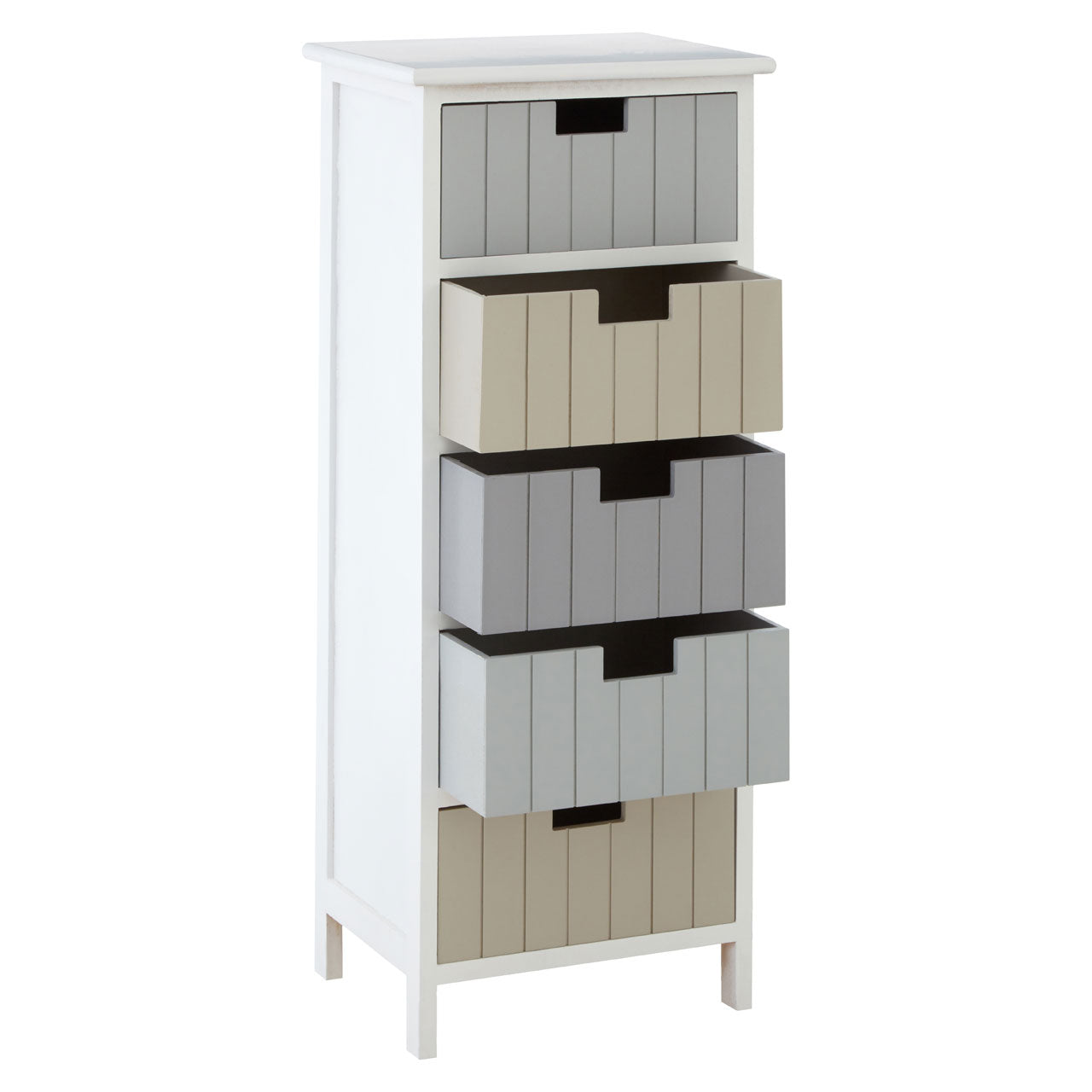 New England 5 Drawer Chest