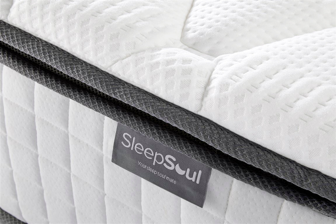 SleepSoul Bliss Single Mattress with Memory Foam Top