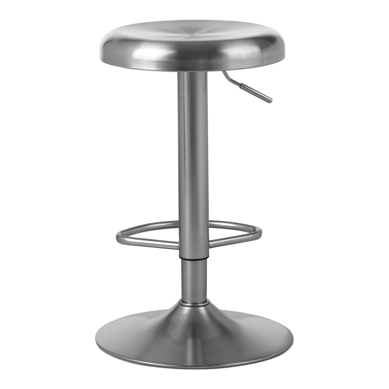 Stockholm Stainless Steel Bar Stool Seat