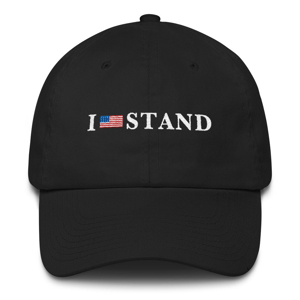 I Stand For The Anthem Cotton Cap - Miss Deplorable