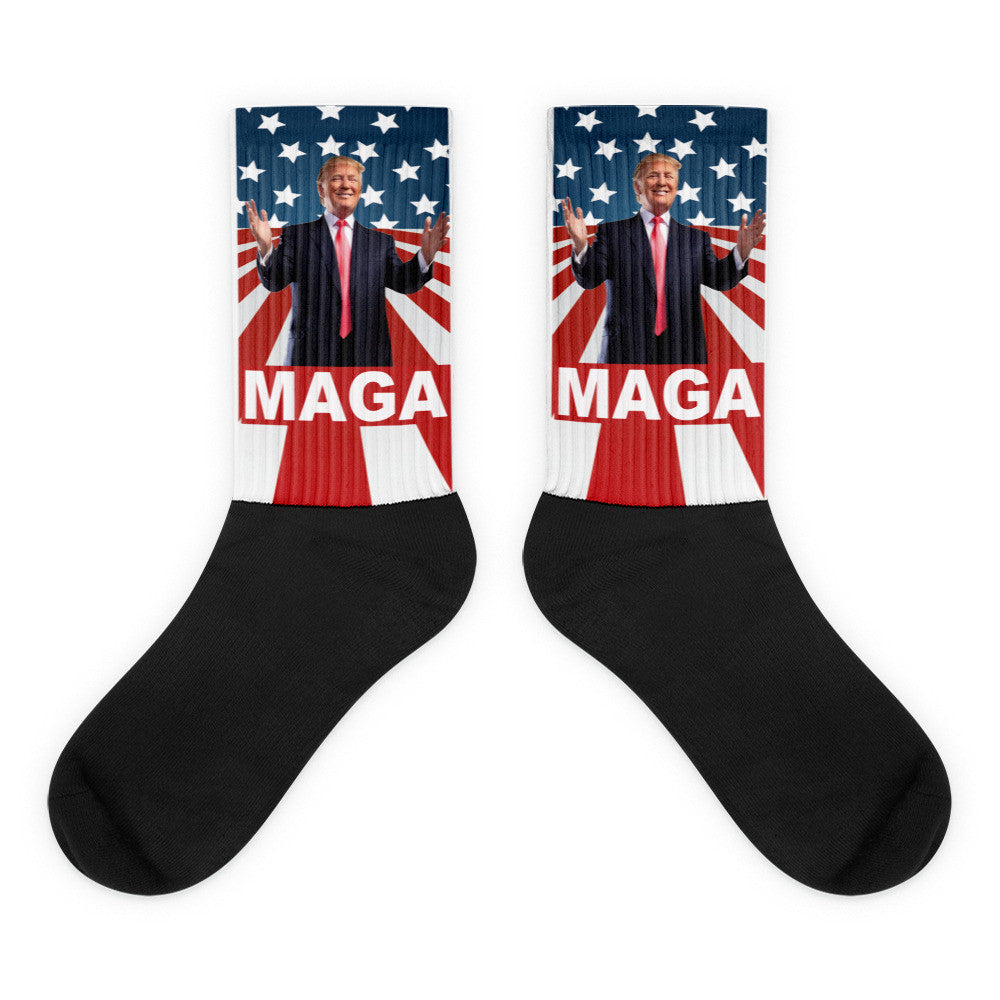 "Make America Great Again Donald Trump ""MAGA"" Socks"