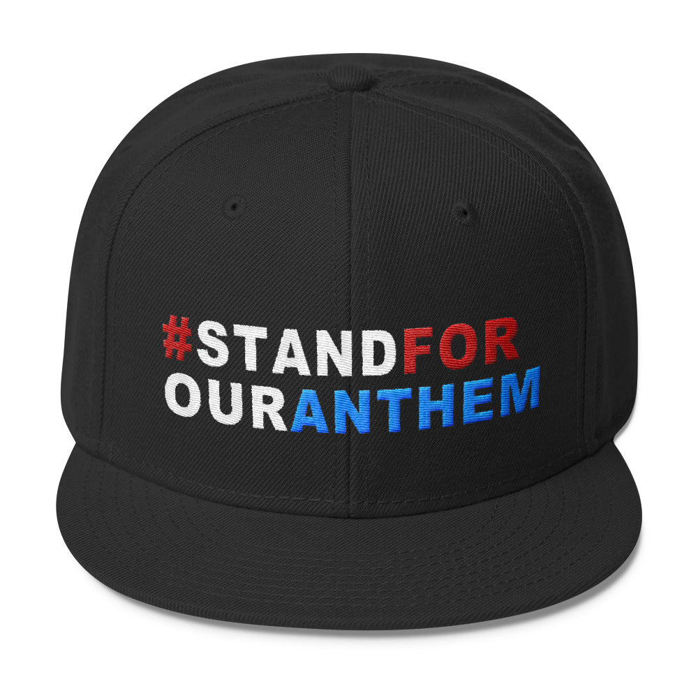 Stand For Our Anthem Snapback Hat