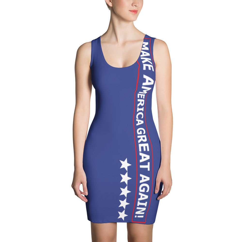 Joy Villa Make America Great Again Dress - Miss Deplorable