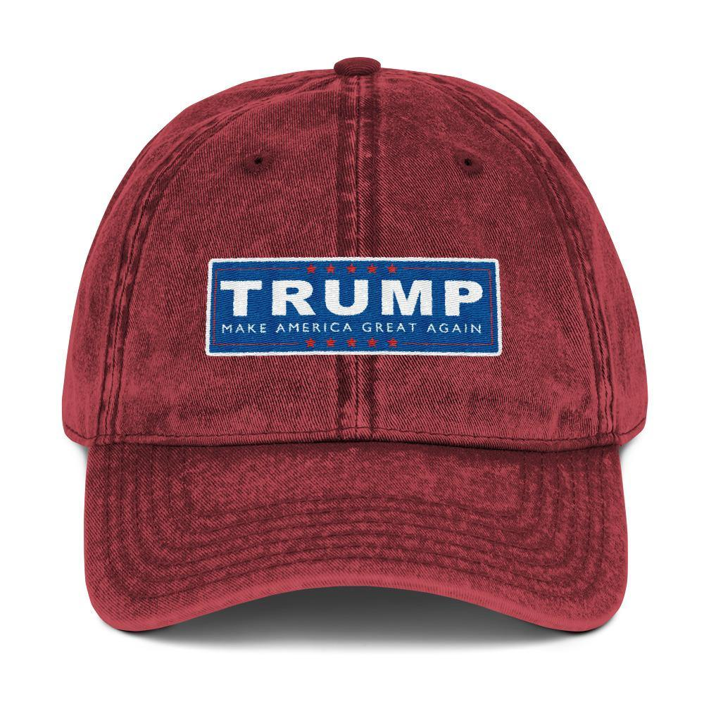 buy Trump Make America Great Again Campaign Hat Vintage Cotton Twill Baseball Cap